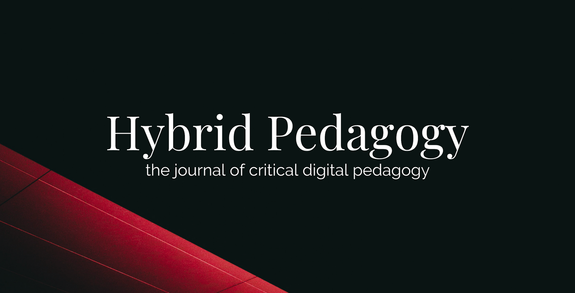 Write for Hybrid Pedagogy